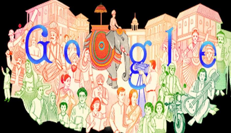 Google Doodle: 72वें गणतंत्र दिवस पर गूगल ने खास अंदाज में  बनाया डूडल, देश की संस्कृति की दिखी झलक- India TV Hindi
