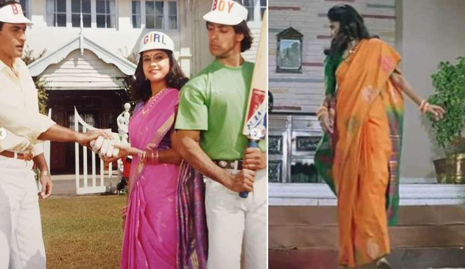 रेणुका शहाणे ने किया खुलासा, आखिर कैसे शूट हुआ फिल्म 'हम आपके है कौन' में सीढ़ियों वाले हादसे का सीन- India TV Hindi