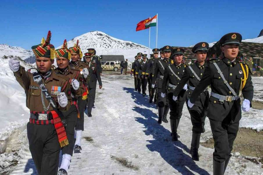 Indian Army on Face-Off With Chinese Army At Nakula Area of North Sikkim- India TV Hindi