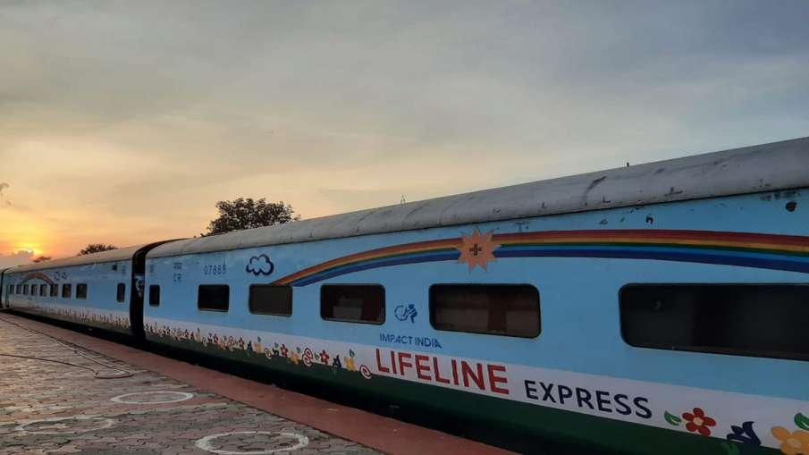 """भारतीय रेलवे ने बनाई दुनिया की पहली अस्पताल ट्रेन """"द लाइफलाइन एक्सप्रेस""""- India TV Hindi"""