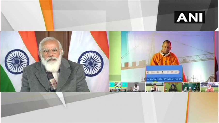 पीएम मोदी ने वीडियो कॉन्फ्रेंसिंग के जरिए 'लाइट हाउस' प्रोजेक्ट का शिलान्यास किया- India TV Hindi