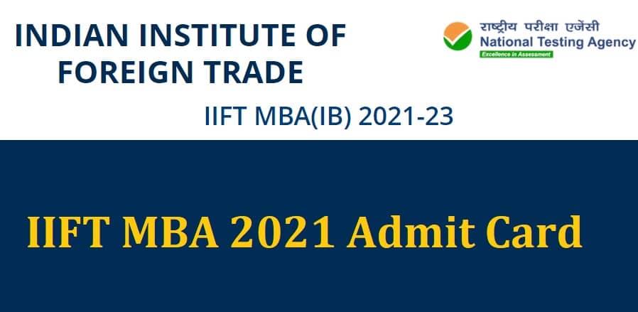 IIFT MBA 2021 admit card- India TV Hindi