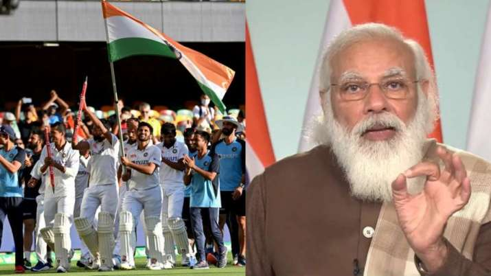Prime Minister Narendra Modi said on India's victory in Australia, this victory is inspiring for the- India TV Hindi