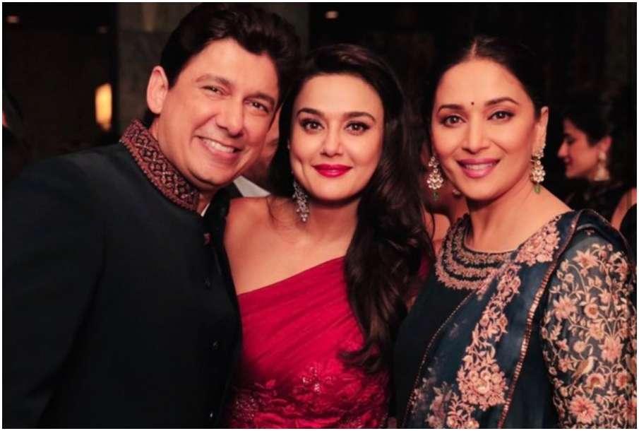 Ram Nene, Preity Zinta and Madhuri Dixit - India TV Hindi