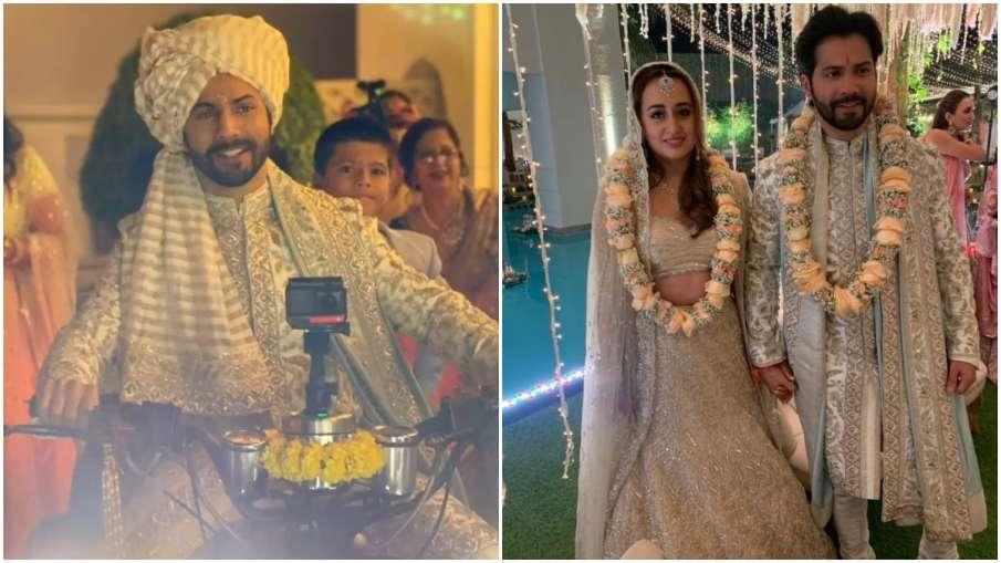 VARUN NATASHA WEDDING - India TV Hindi