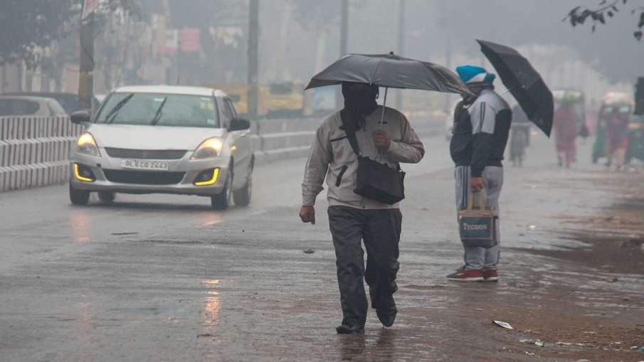 rain predicted in alwar bharatpur aligarh hathras khurja mathura palwal hodal by imd अगले दो घंटे मे- India TV Hindi