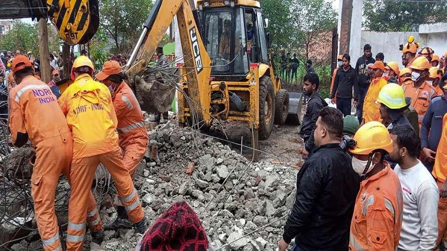 ghaziabad shamshan ghat news three arrested contractor flees गाजियाबाद श्मशान हादसा: अबतक तीन गिरफ्त- India TV Hindi