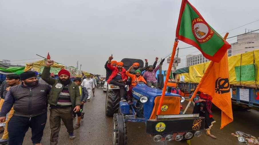 Kisan andolan farmer protests tractor rally today delhi NCR haryana punjab singhu border hindi news - India TV Hindi