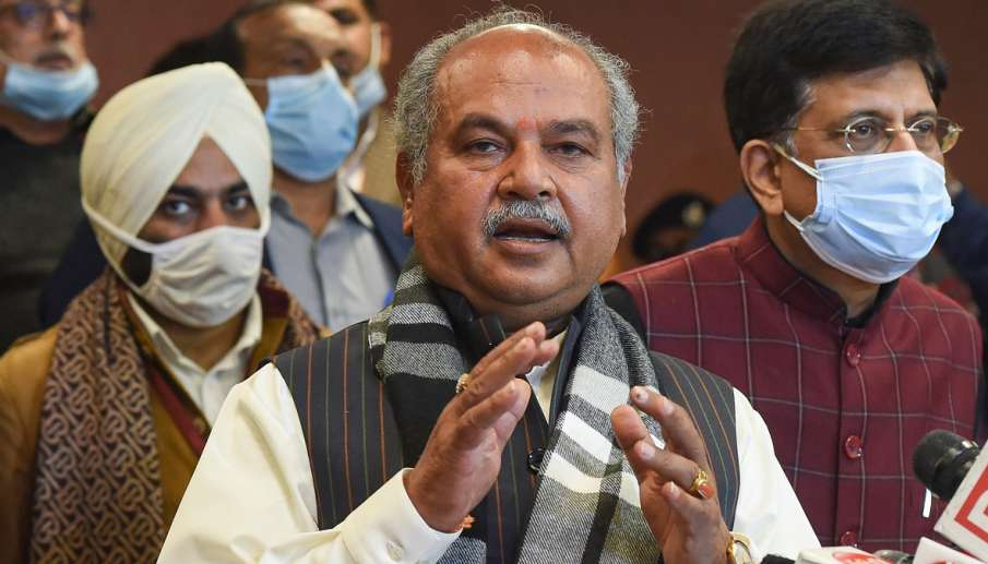 Union Minister for Agriculture & Farmers Welfare Narendra Singh Tomar- India TV Hindi