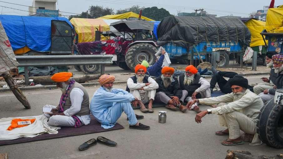 kisan andolan farmers enjoying chicken biryani dry fruits says BJP MLA 'चिकन बिरयानी और ड्राई फ्रूट्- India TV Hindi
