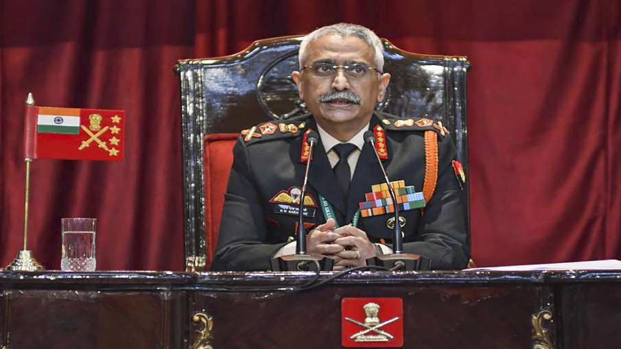 Army Chief General Manoj mukund Naravane statement on armed forced northern borders भारत-चीन सीमा वि- India TV Hindi
