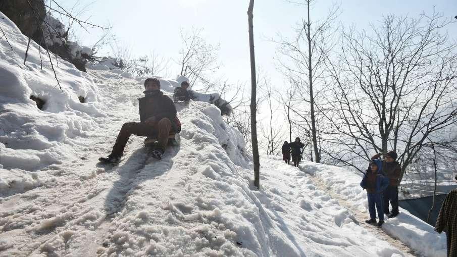 IMD weather alert snowfall rainfall predicted in jammu srinagar kashmir kargil leh ladakh IMD Alert:- India TV Hindi