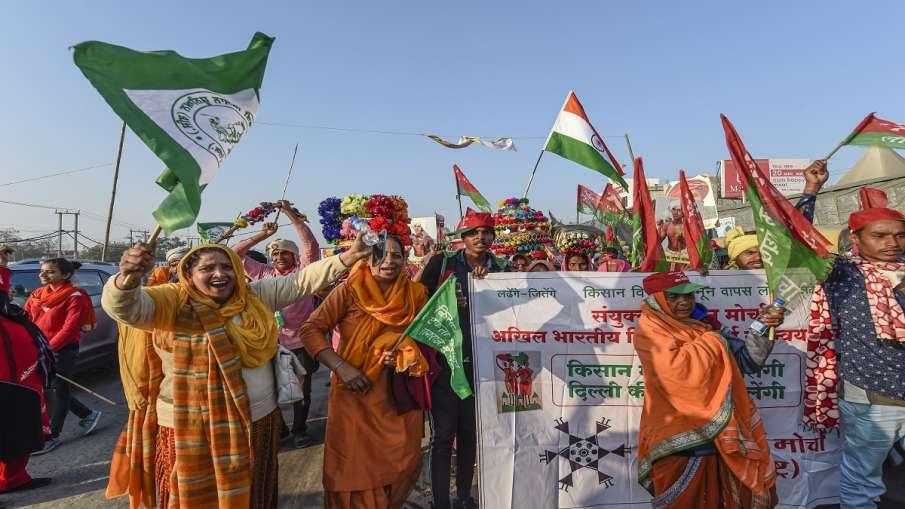Kisan Andolan farmer protest sonia gandhi attack modi government Kisan Andolan: सोनिया गांधी ने मोदी- India TV Hindi