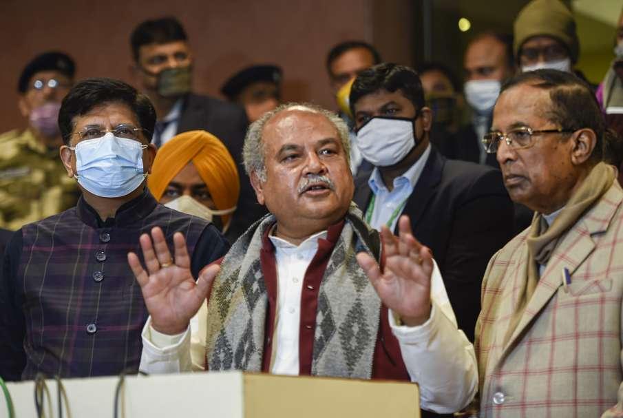 'मंडी और MSP पर नहीं पड़ेगा असर', शरद पवार के बयान पर कृषि मंत्री नरेंद्र सिंह तोमर का जवाब- India TV Hindi