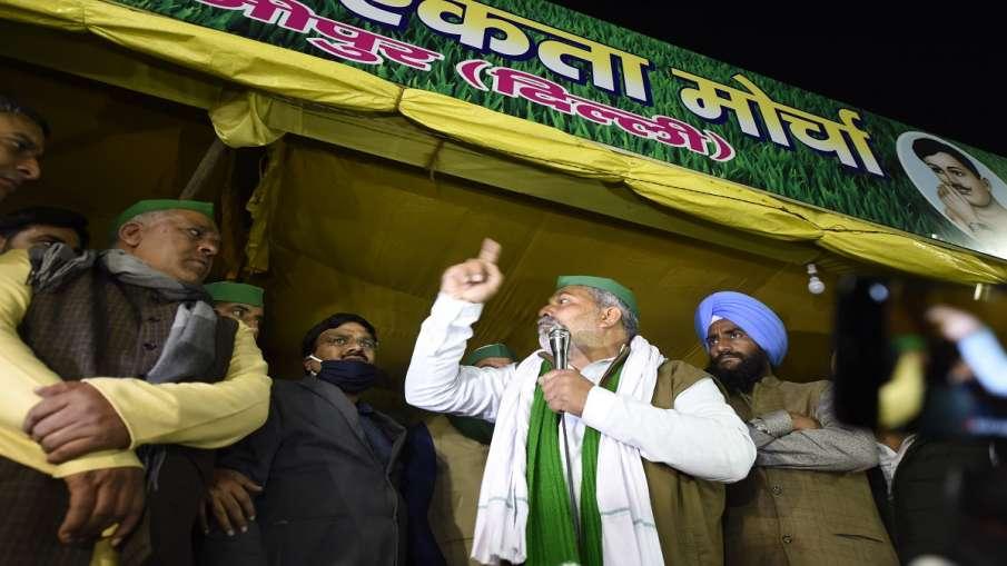 Gurjar Leader Madan Bhaiyya supports Rakesh Tikait kisan andolan पश्चिमी यूपी के बड़े गुर्जर नेता ने- India TV Hindi