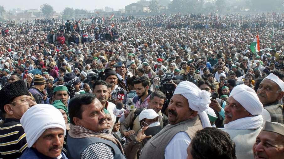 Kisan Andolan Farmer leader Naresh tikait says Violence on January 26 was a result of conspiracy Kis- India TV Hindi