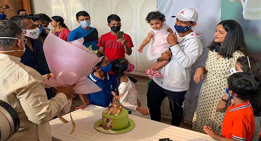 Ajinkya Rahane, Rahane kangaroo cake, Border-Gavaskar trophy, brisbane, cake, chocolate, chocolate c- India TV Hindi