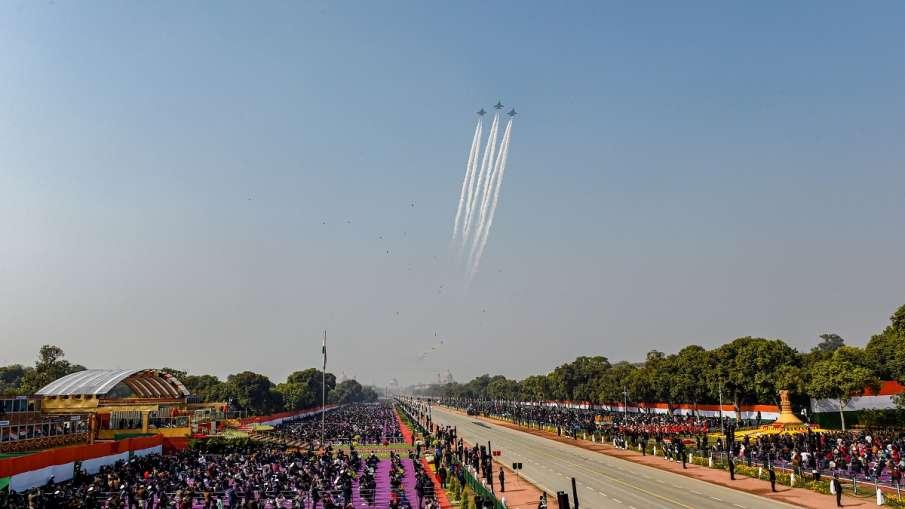 Republic Day parade : राजपथ पर...- India TV Hindi
