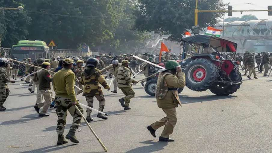 38 FIR registered & 84 people arrested by Delhi police in republic day violence Farmers protest late- India TV Hindi