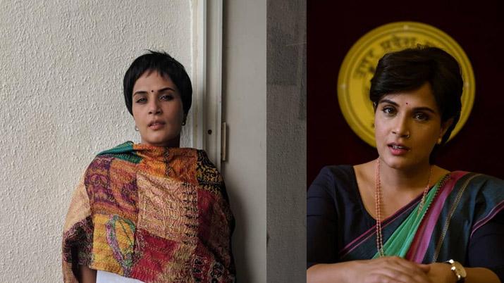 ऋचा चड्ढा ने बताया आखिर क्यों फिल्म 'मैडम चीफ मिनिस्टर' में बाल कटवाने से किया था इनकार- India TV Hindi