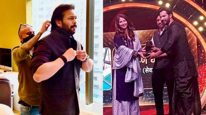 Rohit Shetty and Varun Dhawan- India TV Hindi