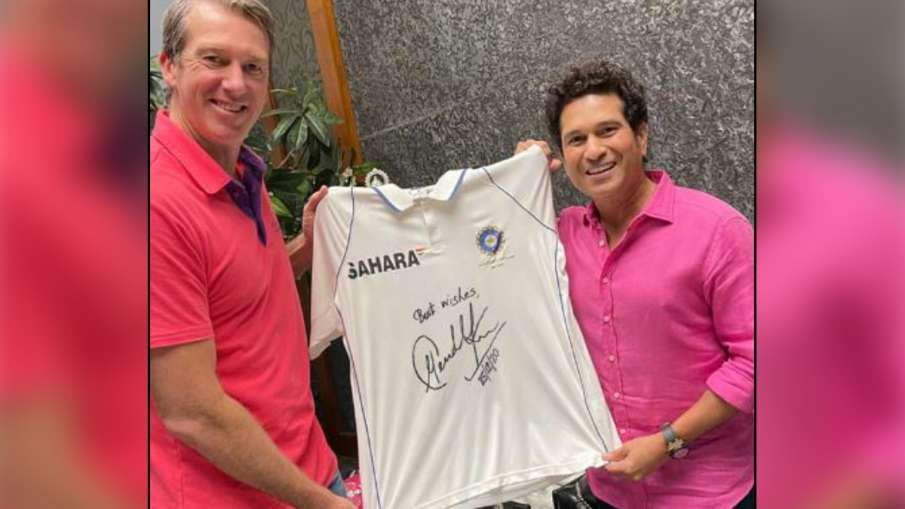 Glenn McGrath, Foundation, Sachin Tendulkar, Pink Test match- India TV Hindi