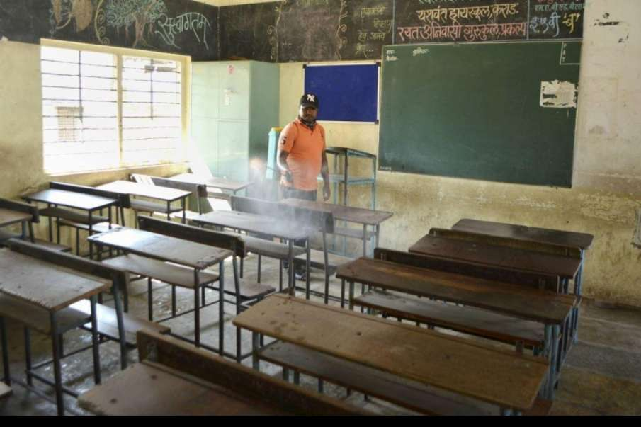Schools reopen in Aurangabad, two teachers test Covid positive- India TV Hindi