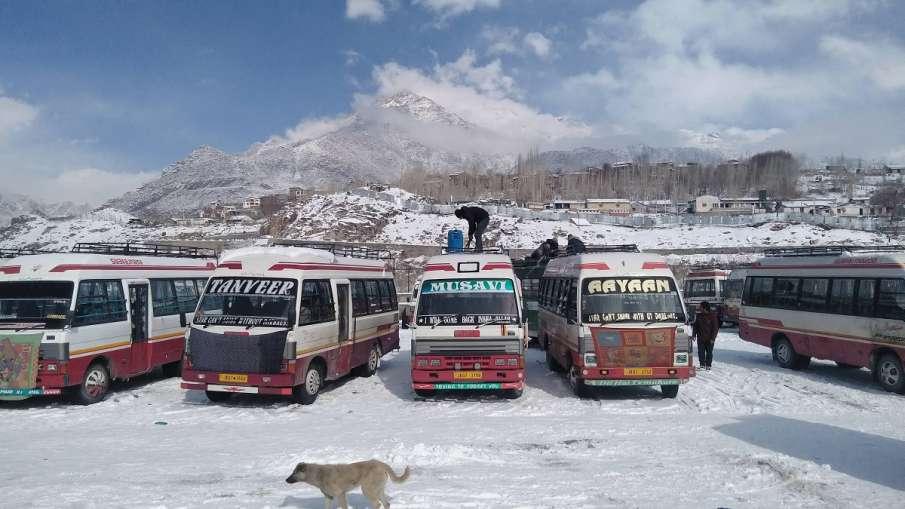 IMD Weather Forecast alert Icy storm Snowfall Delhi Jammu Kashmir Uttar Pradesh- India TV Hindi