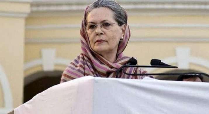 Congress interim president Sonia Gandhi- India TV Hindi