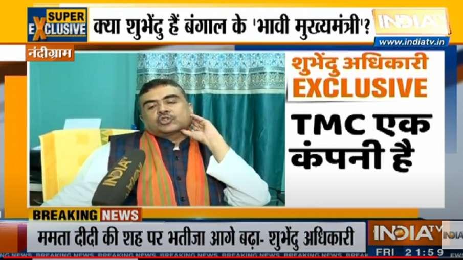 suvendu adhikari, TMC, mamta banerjee, prashant kishor, west bengal assembly election 2021- India TV Hindi
