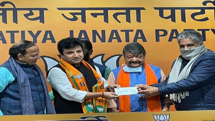 TMC MLA Arindam Bhattacharya Joins BJP- India TV Hindi