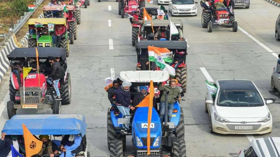 Farmers protest Delhi police Grant Permission To tractor rally Parade on republic day 2021- India TV Hindi