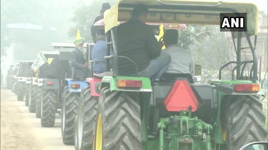 tractor rally on republic day many tractors coming towards delhi from punjab haryana uttar pradesh ग- India TV Hindi