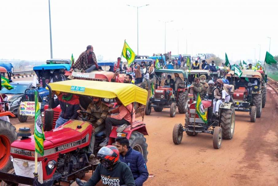 permission granted for tractor rally with 37 conditions latest news- India TV Hindi
