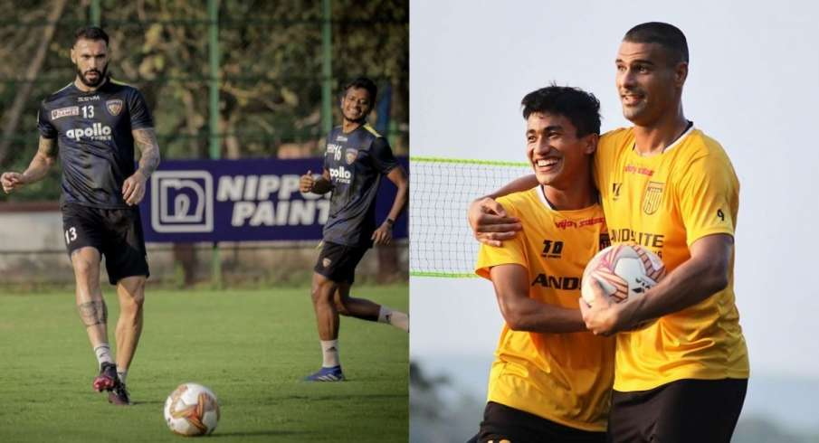 ISL-7, Hyderabad, Chennai, football, sports- India TV Hindi
