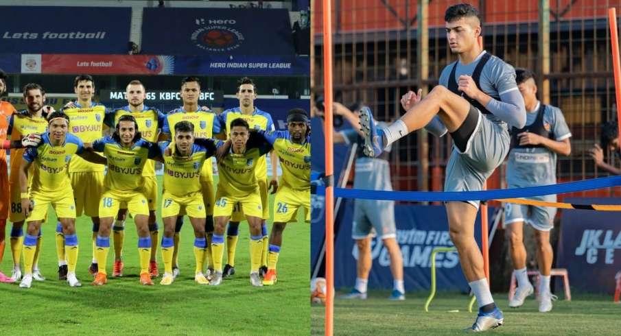 ISL-7, Kerala Blasters, Goa, Bombolim, sports, football - India TV Hindi