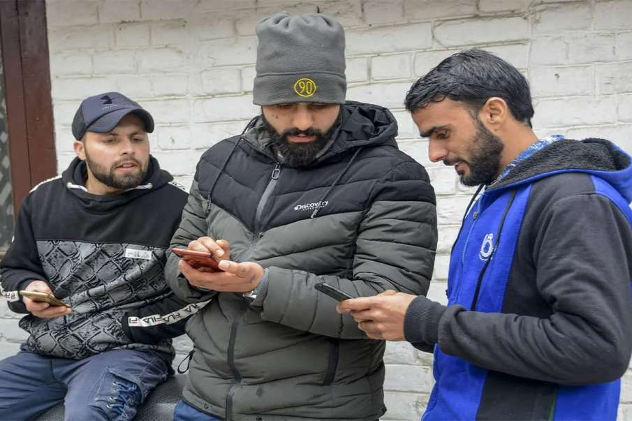 4G mobile internet services restored in entire Jammu and Kashmir in 10 days - India TV Hindi