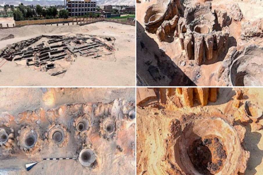 Ancient factory of beer found in Egypt excavated - India TV Hindi
