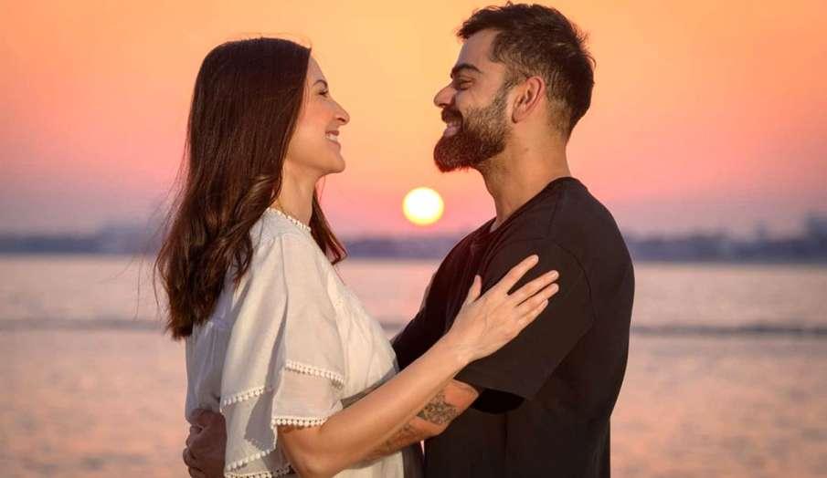 anushka sharma shares sunset photo with husband virat kohli- India TV Hindi