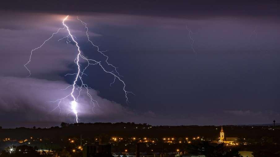 IMD predicts thunderstorm lightning hailstorm rain  Chhindwara Seoni Betul Balaghat Nagpur Bhandara - India TV Hindi