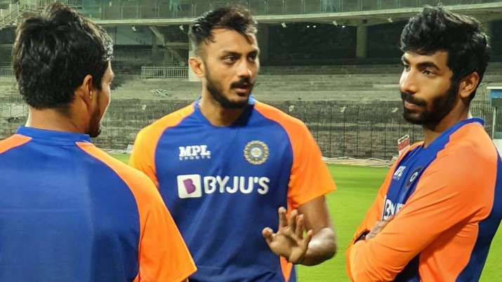 Axar Patel seen in batting in the nets, Shahbaz Nadeem sure to be out- India TV Hindi