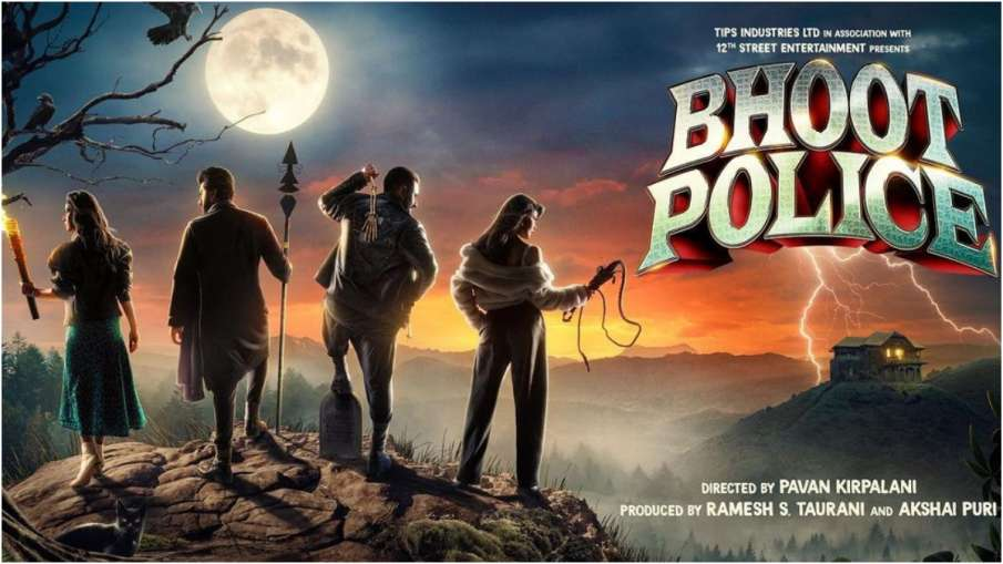 The release of the film 'Bhoot Police' has been announced- India TV Hindi