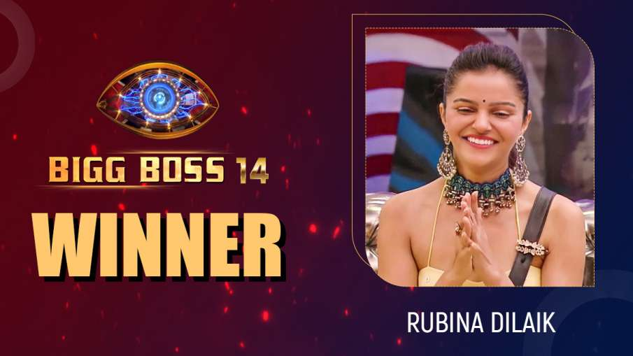 Bigg Boss 14 winner Rubina Dilaik- India TV Hindi
