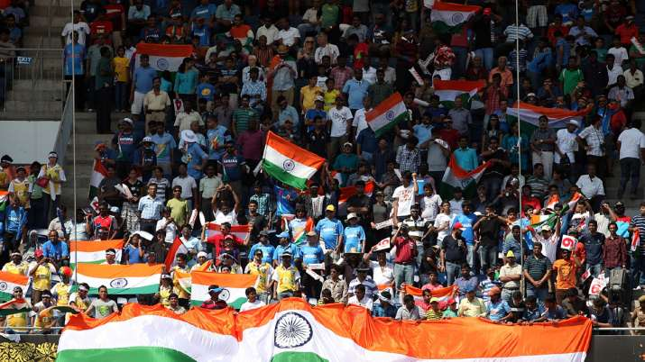 IND vs ENG: crowds flocked to Chepak for tickets, flown off rules of social distance- India TV Hindi