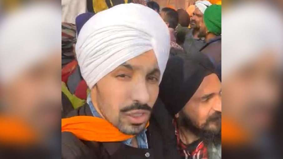 Kisan Andolan tractor rally red fort violence main accused deep sidhu female friend role- India TV Hindi