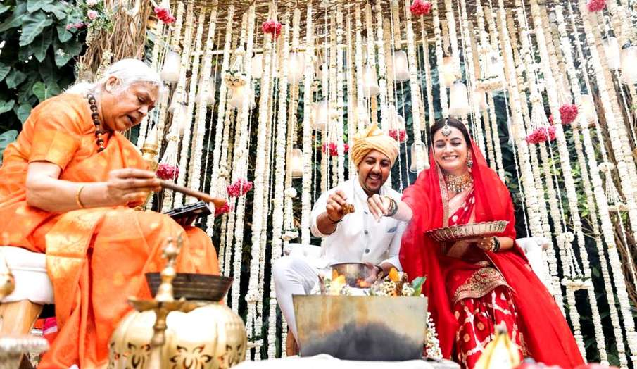dia mirza vaibhav rekhi wedding latest news - India TV Hindi