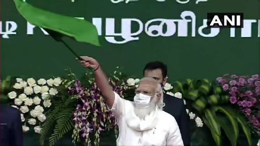 PM Narendra Modi gift to Tamil Nadu शहर को मेट्रो, गांव को नहर, जानिए प्रधानमंत्री ने तमिल नाडु को द- India TV Hindi