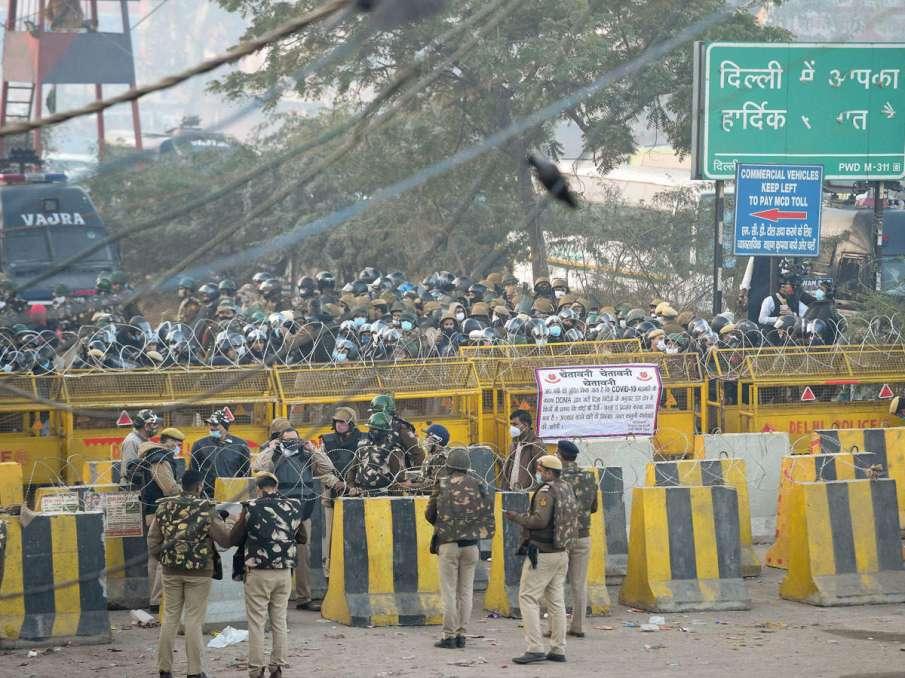 Delhi Police Farmers Chakka Jam These steps taken to prevent Measures violence- India TV Hindi