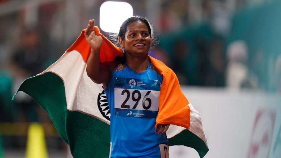 Dutee Chand hopes of qualifying for Olympics were shock - India TV Hindi