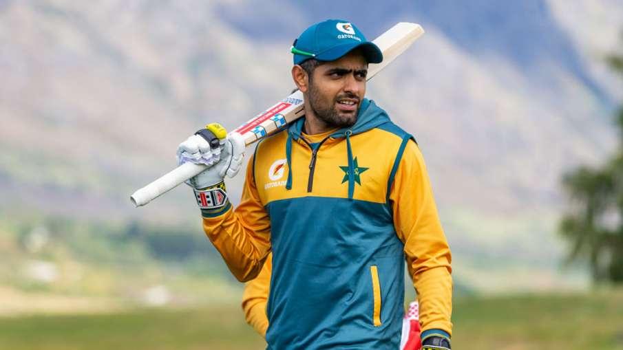 Babar Azam Pakistan captain runs out on first ball, video goes viral PAK vs SA 1st T20I- India TV Hindi
